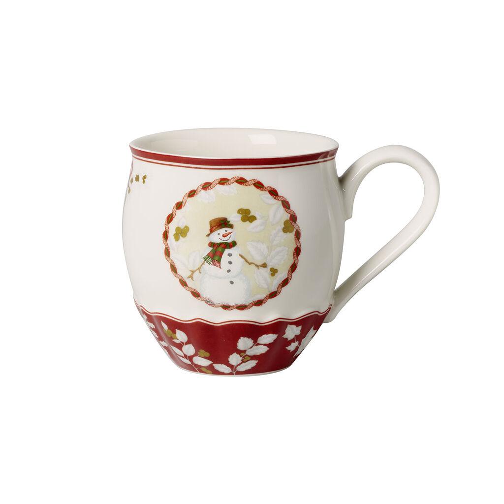 빌레로이 앤 보흐 토이즈 판타지 눈사람 점보 머그컵 Villeroy & Boch Toys Fantasy Jumbo Mug : Snowman 18 oz