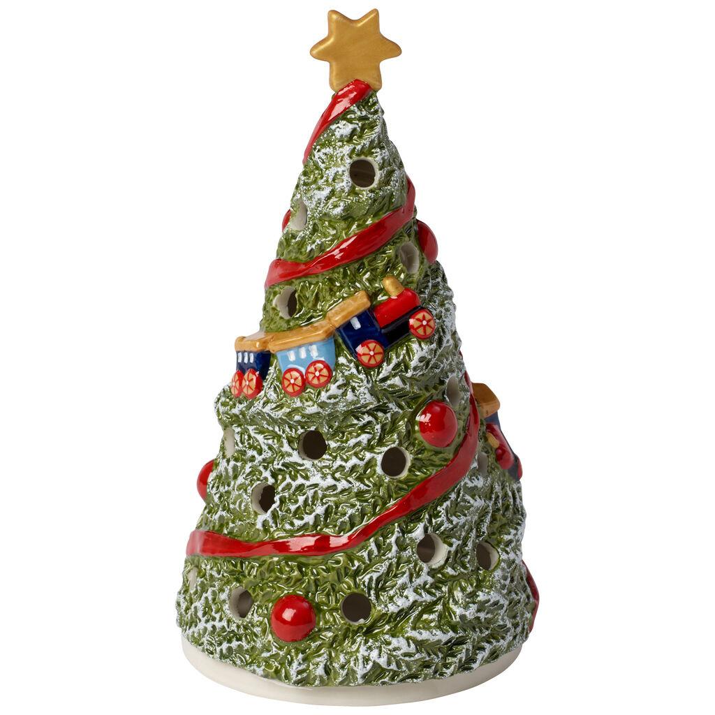 빌레로이 앤 보흐 랜턴 Villeroy & Boch Christmas Toys Lantern : Fir Tree 3.25x6 in