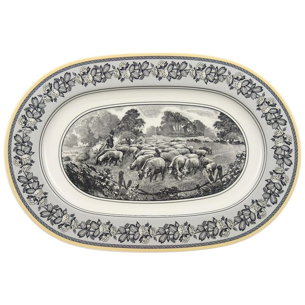 빌레로이 앤 보흐 아우든 '펌' 오발 접시 34cm Villeroy & Boch Audun Ferme Oval Platter 13 1/4 in