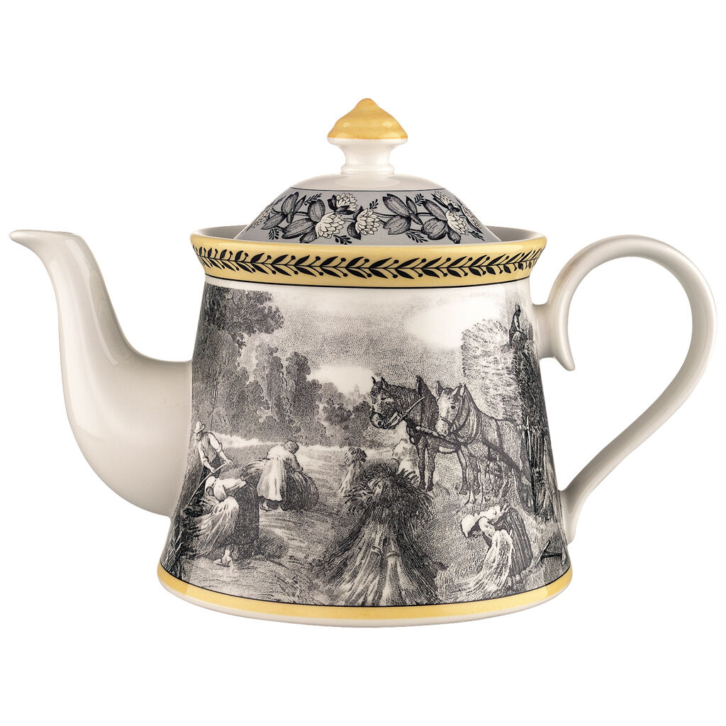 빌레로이 앤 보흐 아우든 '펌' 티 포트 Villeroy & Boch Audun Ferme Teapot 37 oz