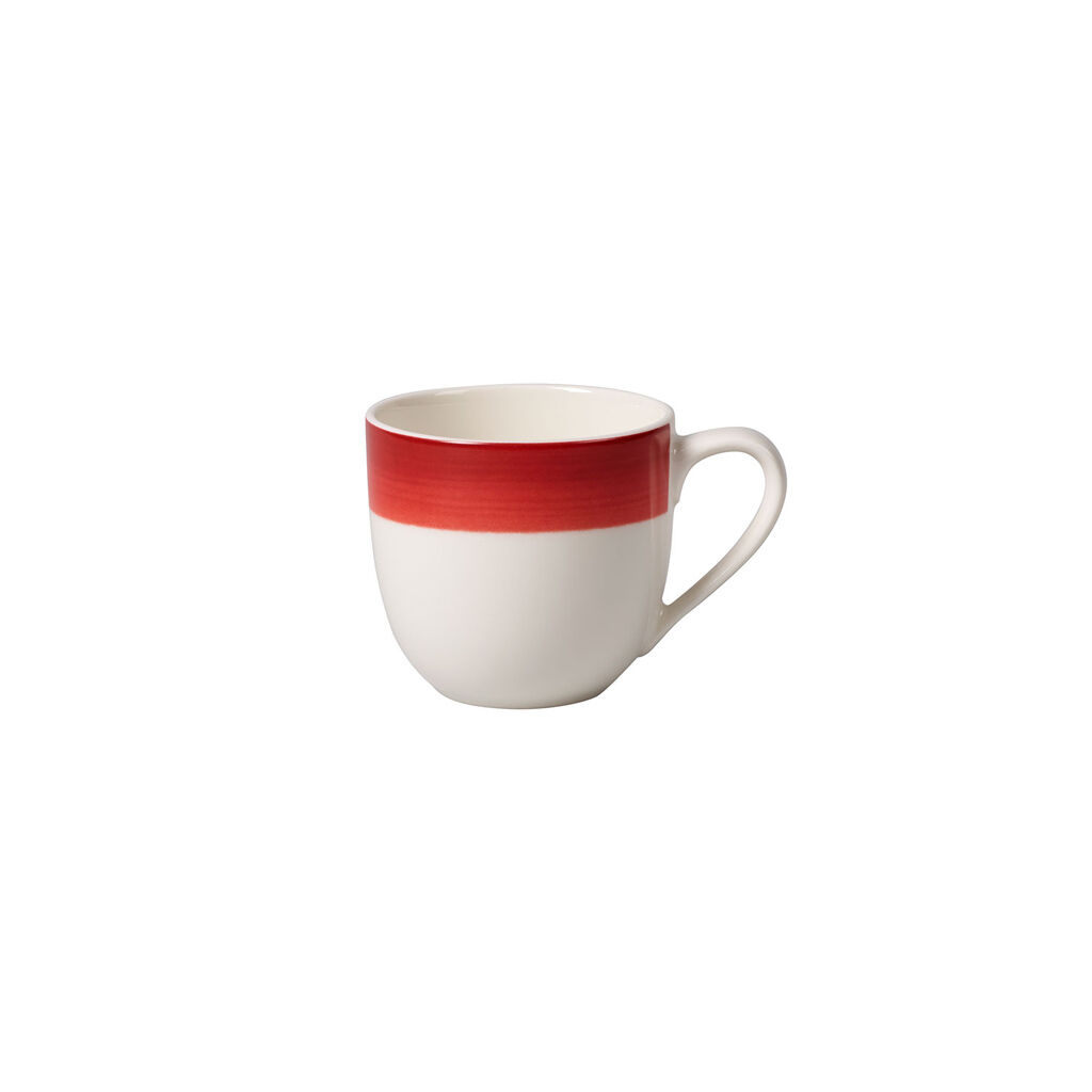 빌레로이 앤 보흐 컬러풀 라이프 딥 레드 에스프레소 잔 Villeroy & Boch Colorful Life Deep Red Espresso Cup 3 1/4 oz