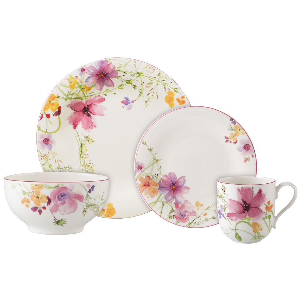 빌레로이 앤 보흐 8피스 그릇세트 Villeroy & Boch Mariefleur 8 Piece Set, Service for 2