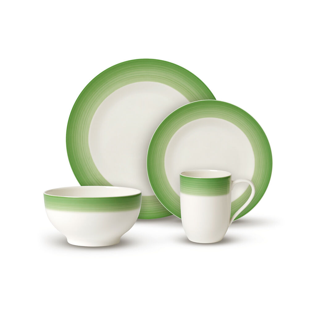 빌레로이 앤 보흐 8피스 그릇세트 Villeroy & Boch Colorful Life Green Apple 8 Piece Dinner Set for 2