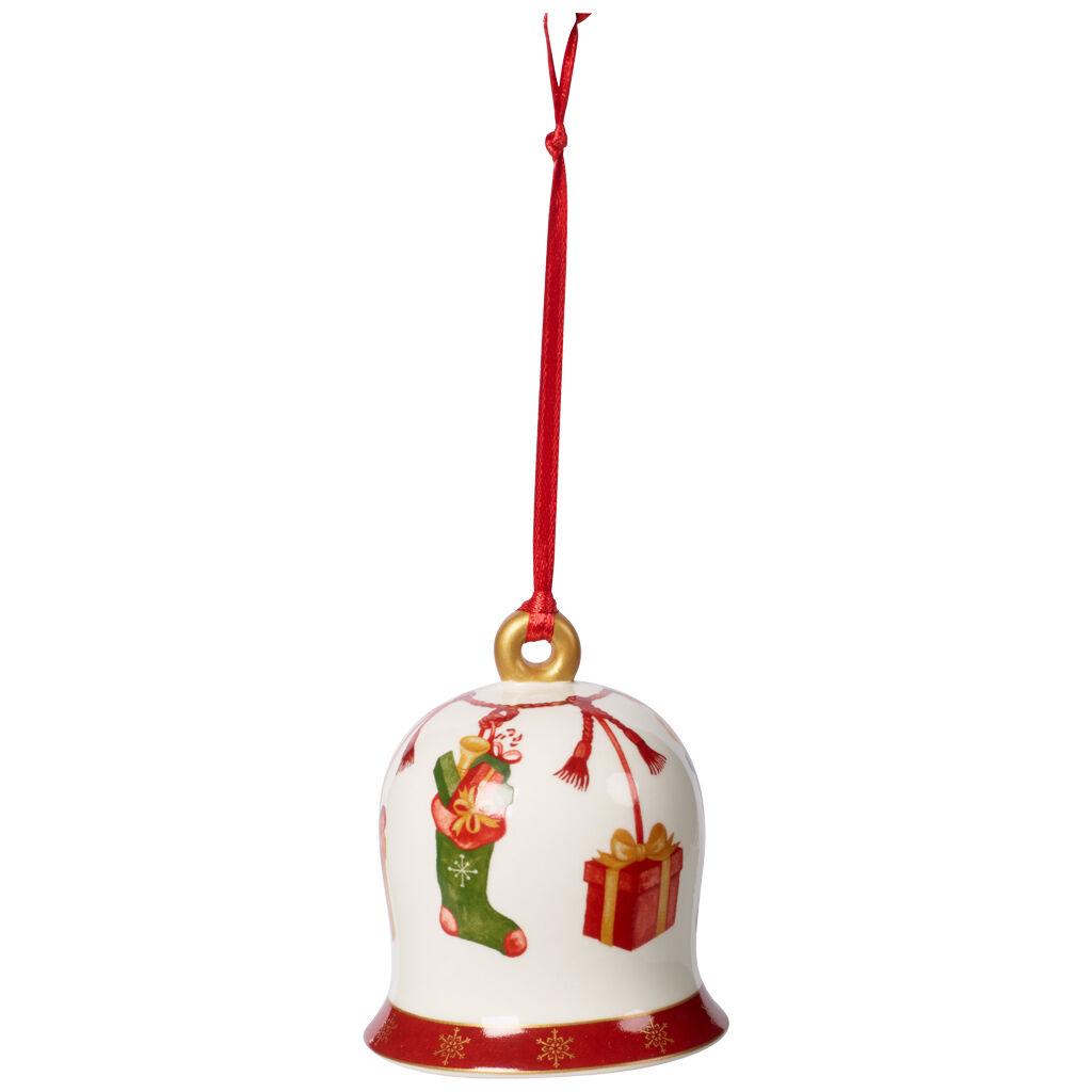 빌레로이 앤 보흐 트리 장식품 Villeroy & Boch Annual Christmas Edition Bell 2019 2.25x2.25x2.75 in