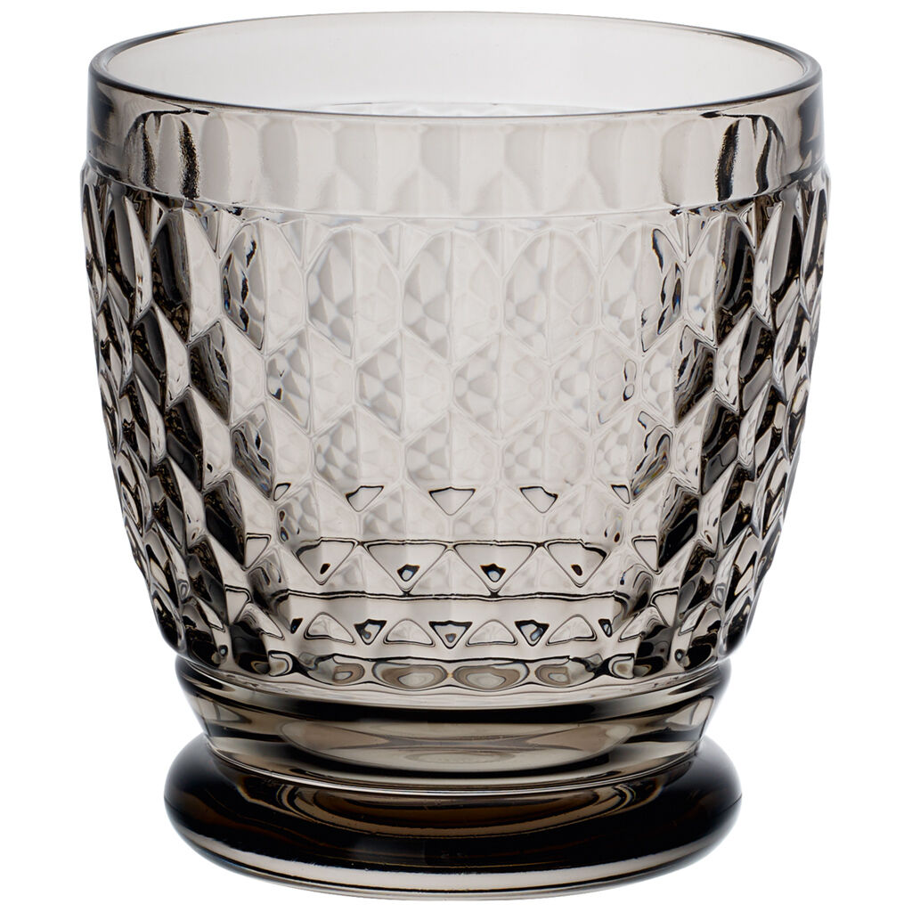 빌레로이 앤 보흐 보스턴 컬러 맥주잔 Villeroy & Boch Boston Colored Double Old Fashioned-Smoke : Set of 4 11 oz