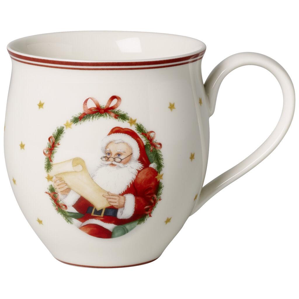 빌레로이 앤 보흐 토이즈 딜라이트 산타 머그컵 Villeroy & Boch Toys Delight Mug : Mr & Mrs Santa 1475 oz