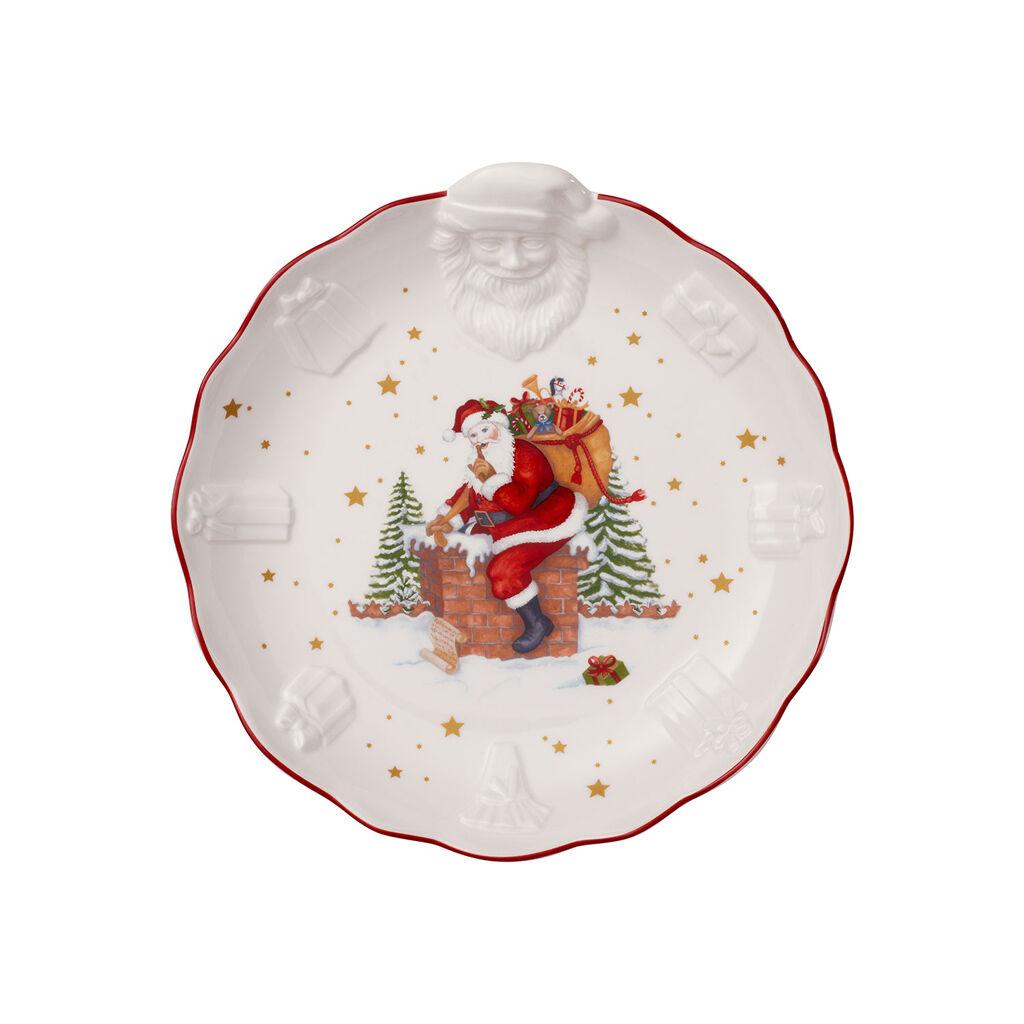 빌레로이 앤 보흐 토이즈 판타지 굴뚝 산타 라지 보울  Villeroy & Boch Toys Fantasy Large Bowl : Santa Relief 95x975 in