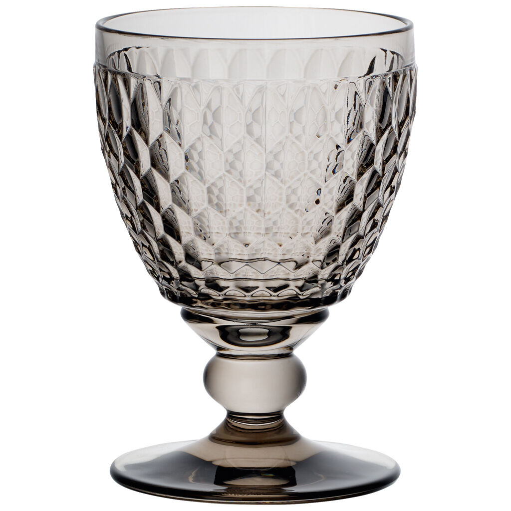 빌레로이 앤 보흐 보스턴 고블릿 Villeroy & Boch Boston Colored Goblet-Smoke : Set of 4 14 oz
