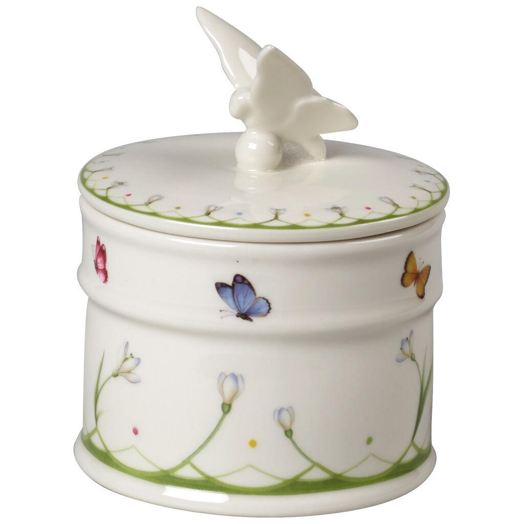 빌레로이 앤 보흐 컬러풀 스프링 커버 박스 스몰 Villeroy & Boch Colourful Spring Small Covered Box 5.5 in