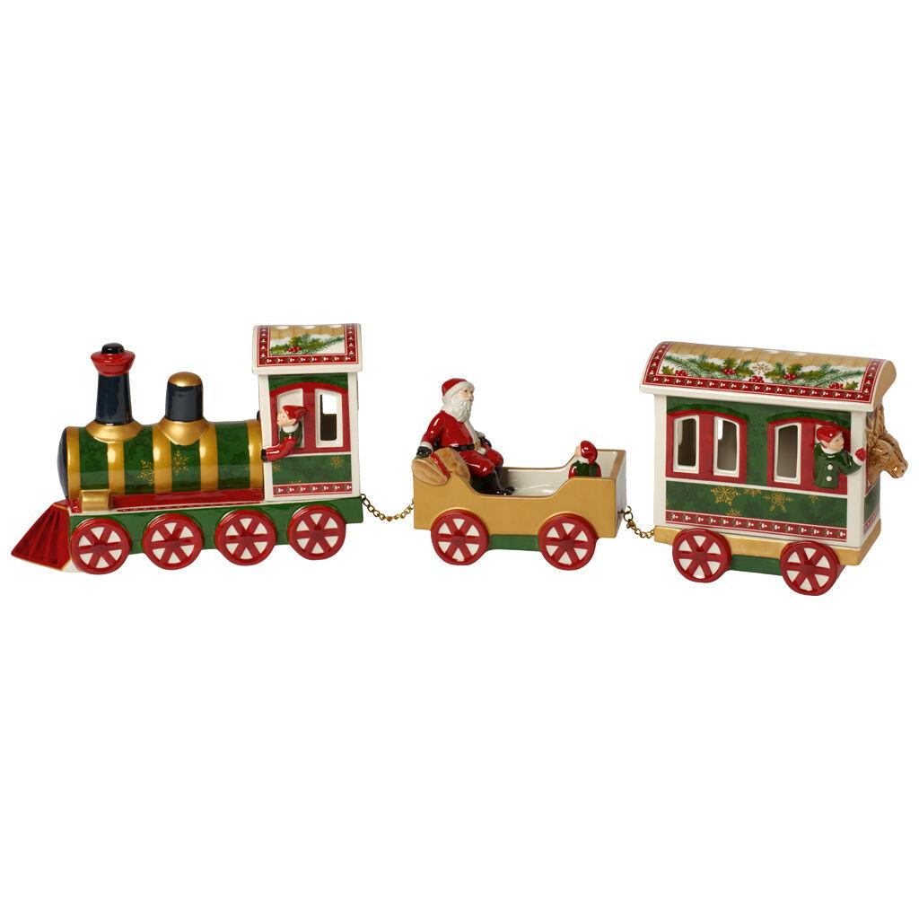 빌레로이 앤 보흐 산타와 기차 장식품 Villeroy & Boch Christmas Toys Memory North Pole Express