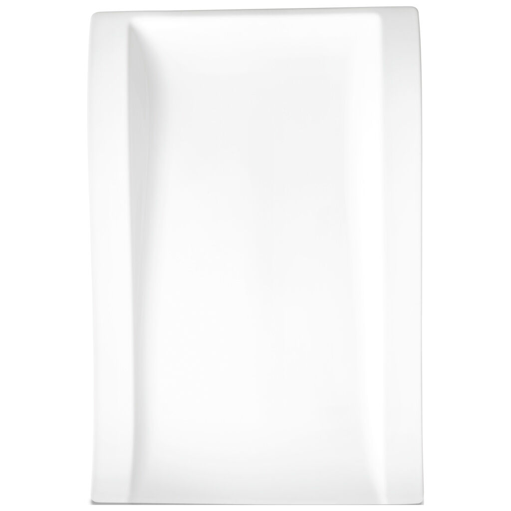 빌레로이 앤 보흐 뉴웨이브 그릇 Villeroy & Boch New Wave Large Rectangle Dinner Plate 15 1/2 in