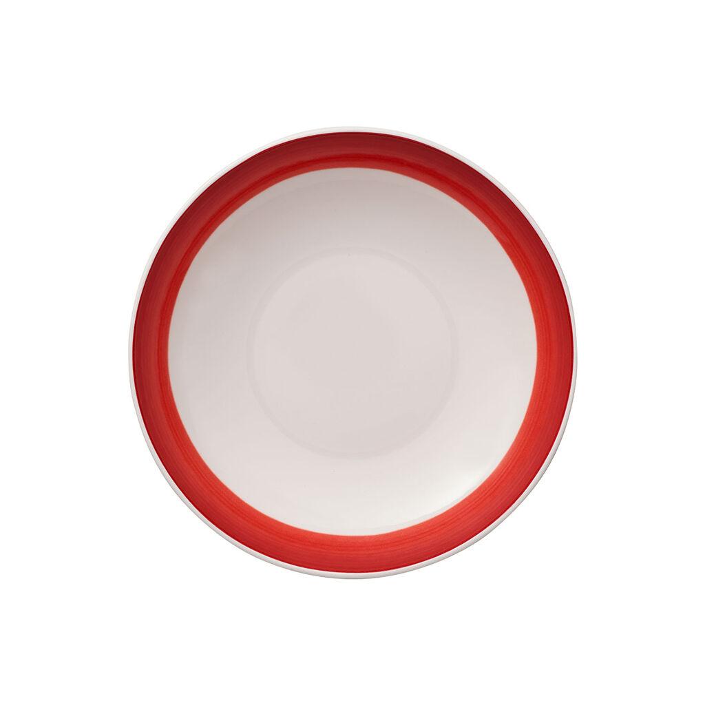 빌레로이 앤 보흐 컬러풀 라이프 딥 레드 파스타 볼 Villeroy & Boch Colorful Life Deep Red Pasta Bowl 37 oz