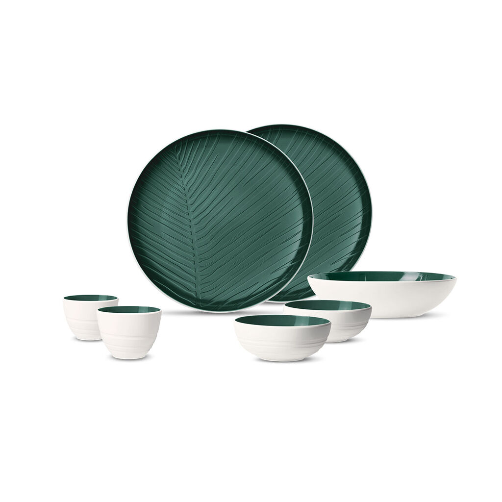 빌레로이 앤 보흐 그릇세트 Villeroy & Boch its my match green First Love : 7pc set