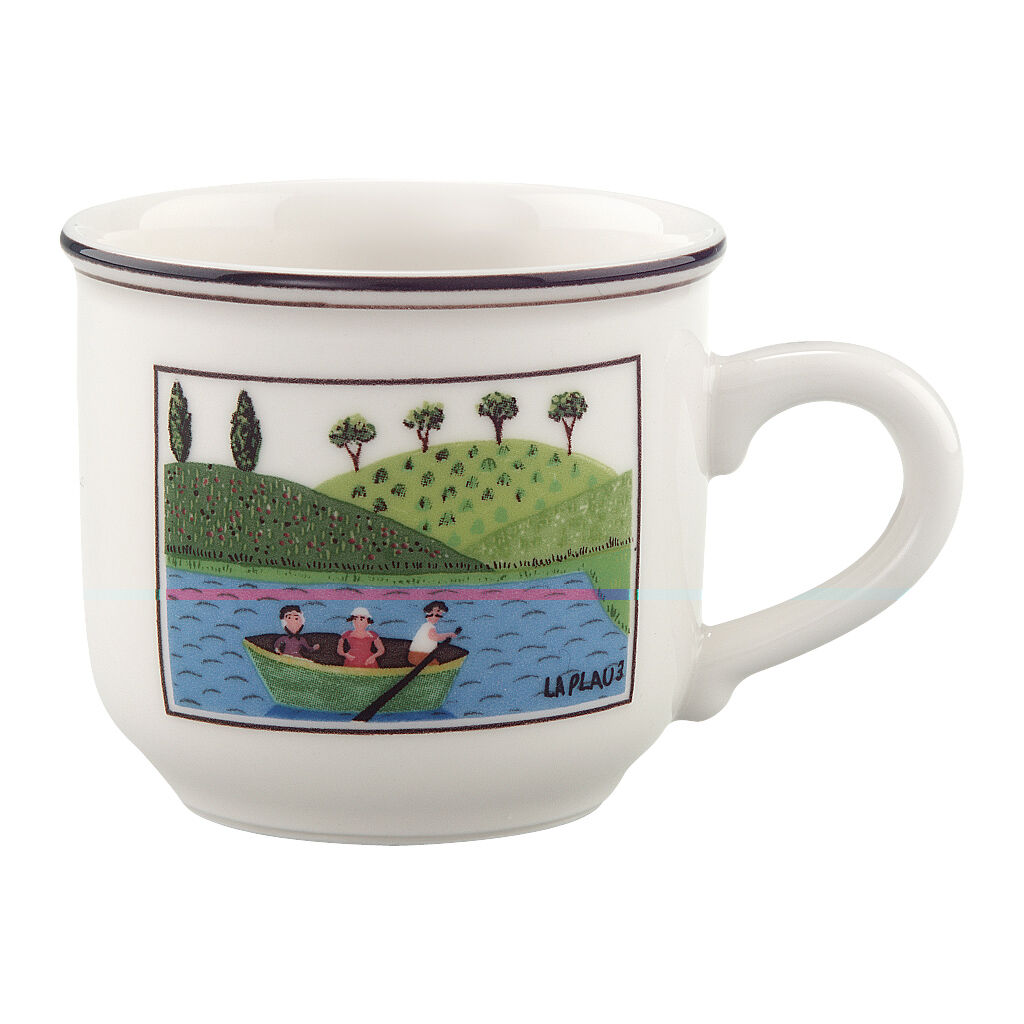 빌레로이 앤 보흐 디자인 나이프 에스프레소잔 5온즈 Villeroy&Boch Design Naif Espresso Cup 5 oz