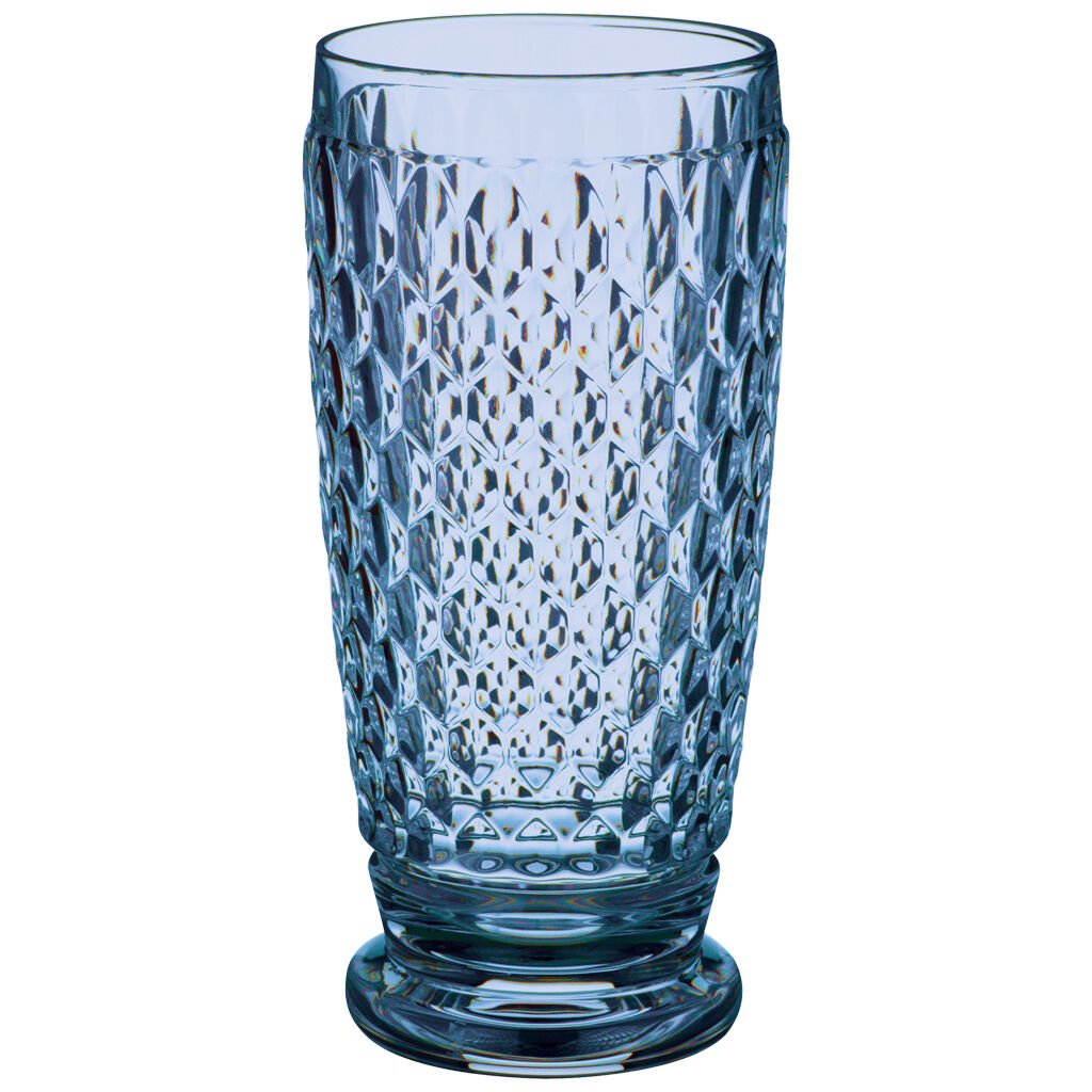 빌레로이 앤 보흐 보스턴 하이볼 Villeroy & Boch Boston Colored Highball Glass, Blue 6 1/4 in