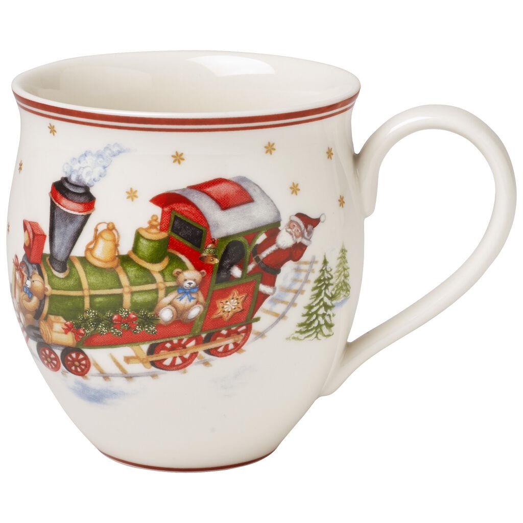 빌레로이 앤 보흐 토이즈 딜라이트 북극 산타 머그컵 Villeroy & Boch Toys Delight Mug : North Pole Express 1475 oz