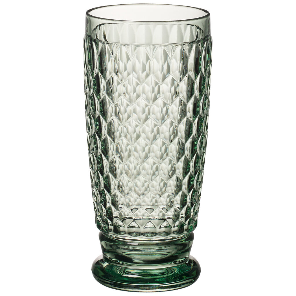 빌레로이 앤 보흐 보스턴 하이볼 Villeroy & Boch Boston Colored Highball Glass, Green 6 1/4 in