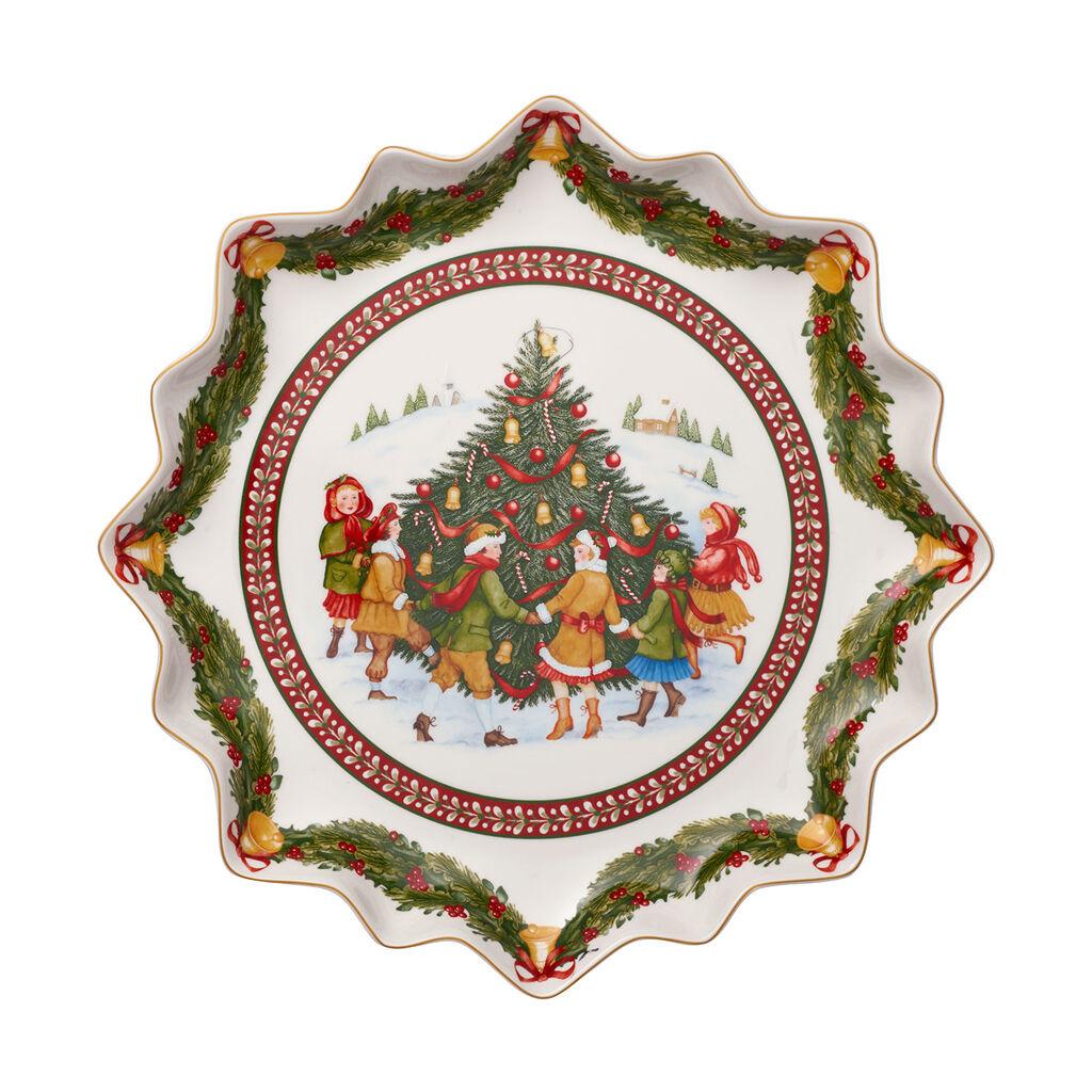 빌레로이 앤 보흐 토이즈 판타지 패스트리 접시 Villeroy & Boch Toys Fantasy Deep Pastry Plate : Dance Around Tree 1525 in