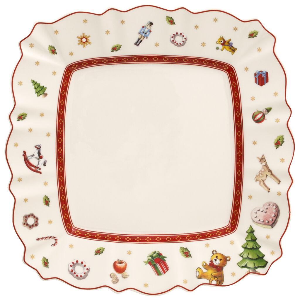 빌레로이 앤 보흐 토이즈 딜라이트 사각 샐러드 접시 Villeroy & Boch Toys Delight Square Salad Plate 85x85 in
