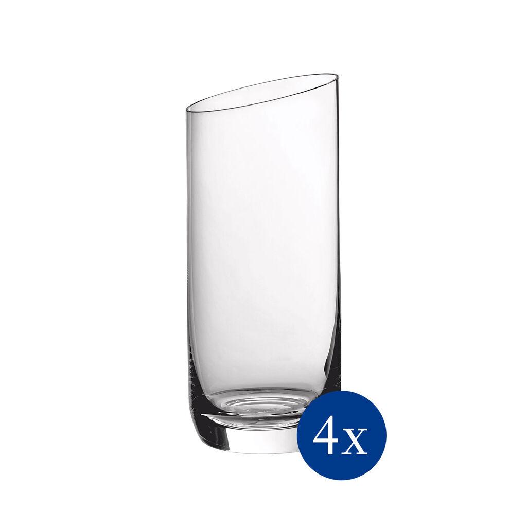 빌레로이 앤 보흐 뉴문 유리잔 4세트 Villeroy & Boch NewMoon Juice/Tumbler : Set of 4 4.75 in