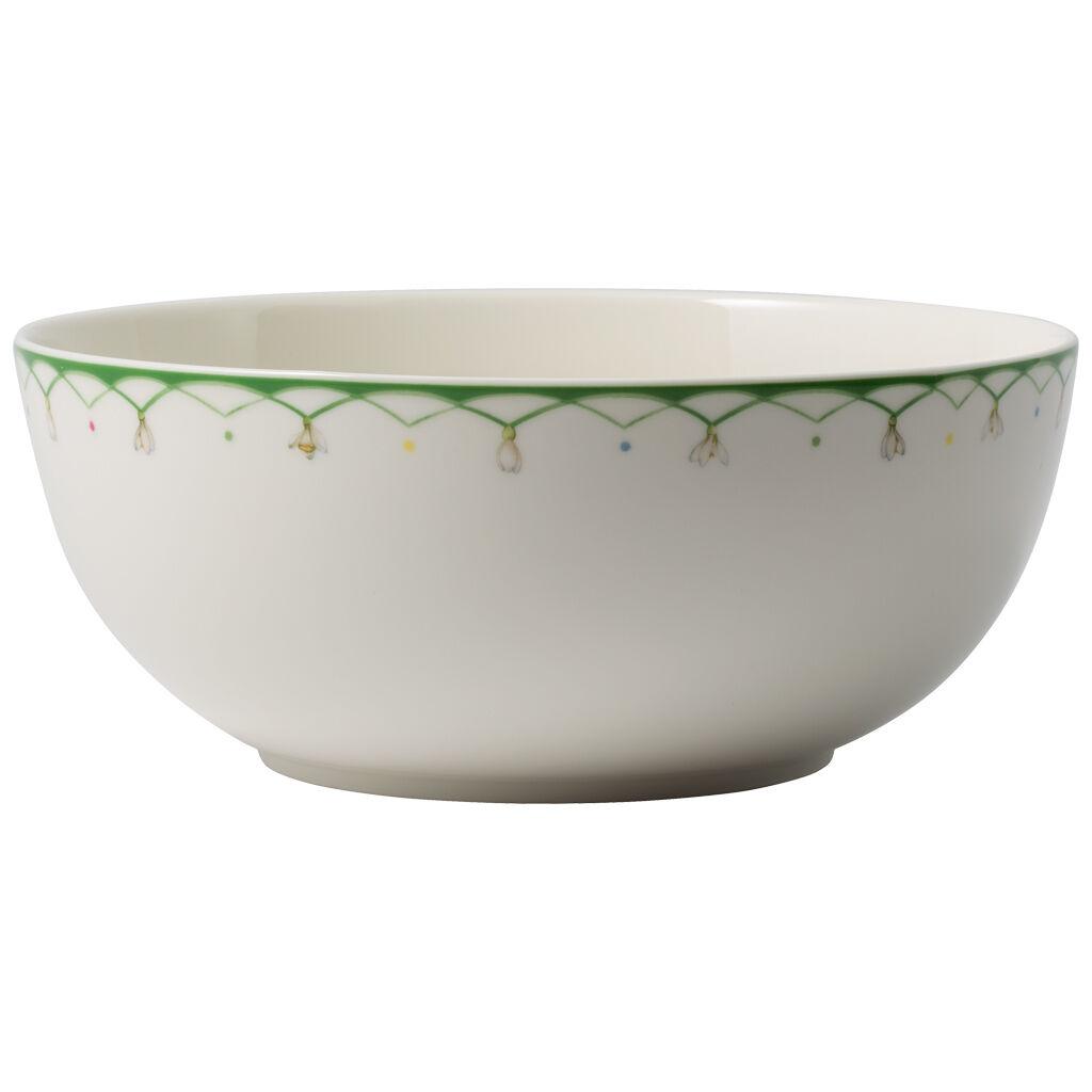 빌레로이 앤 보흐 컬러풀 스프링 샐러드 그릇 9인치 Villeroy & Boch Colourful Spring Round Vegetable Bowl 9 in