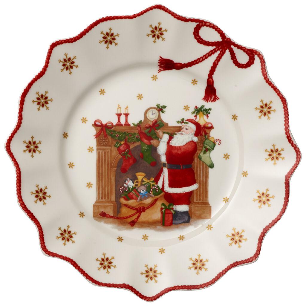 빌레로이 앤 보흐 크리스마스 샐러드 그릇 Villeroy & Boch Annual Christmas Edition Salad Plate 2019 9.5 x 3.5 in