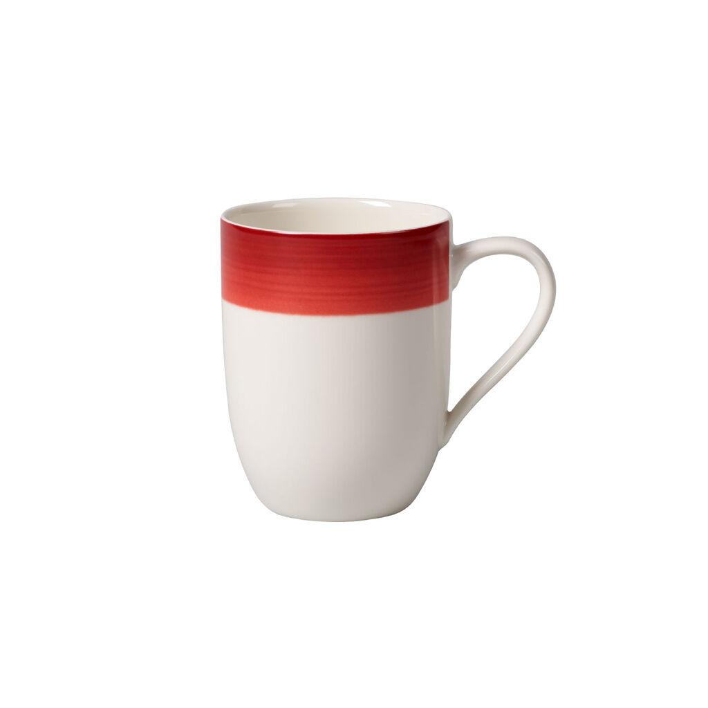 빌레로이 앤 보흐 컬러풀 라이프 딥 레드 머그컵 Villeroy & Boch Colorful Life Deep Red Mug 12 1/2 oz