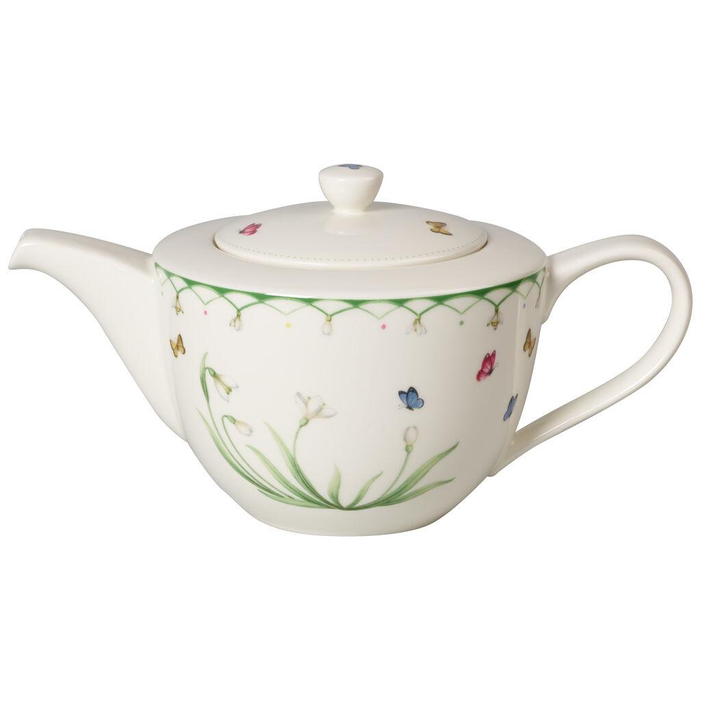 빌레로이 앤 보흐 컬러풀 스프링 티팟  Villeroy & Boch Colourful Spring Teapot 11 in