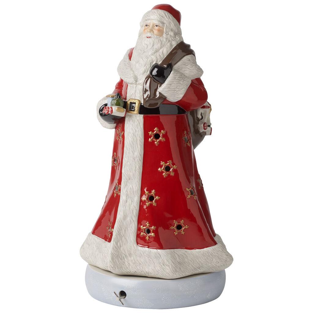빌레로이 앤 보흐 산타 인형 Villeroy & Boch Christmas Toys Memory Figurine : Santa 16 in