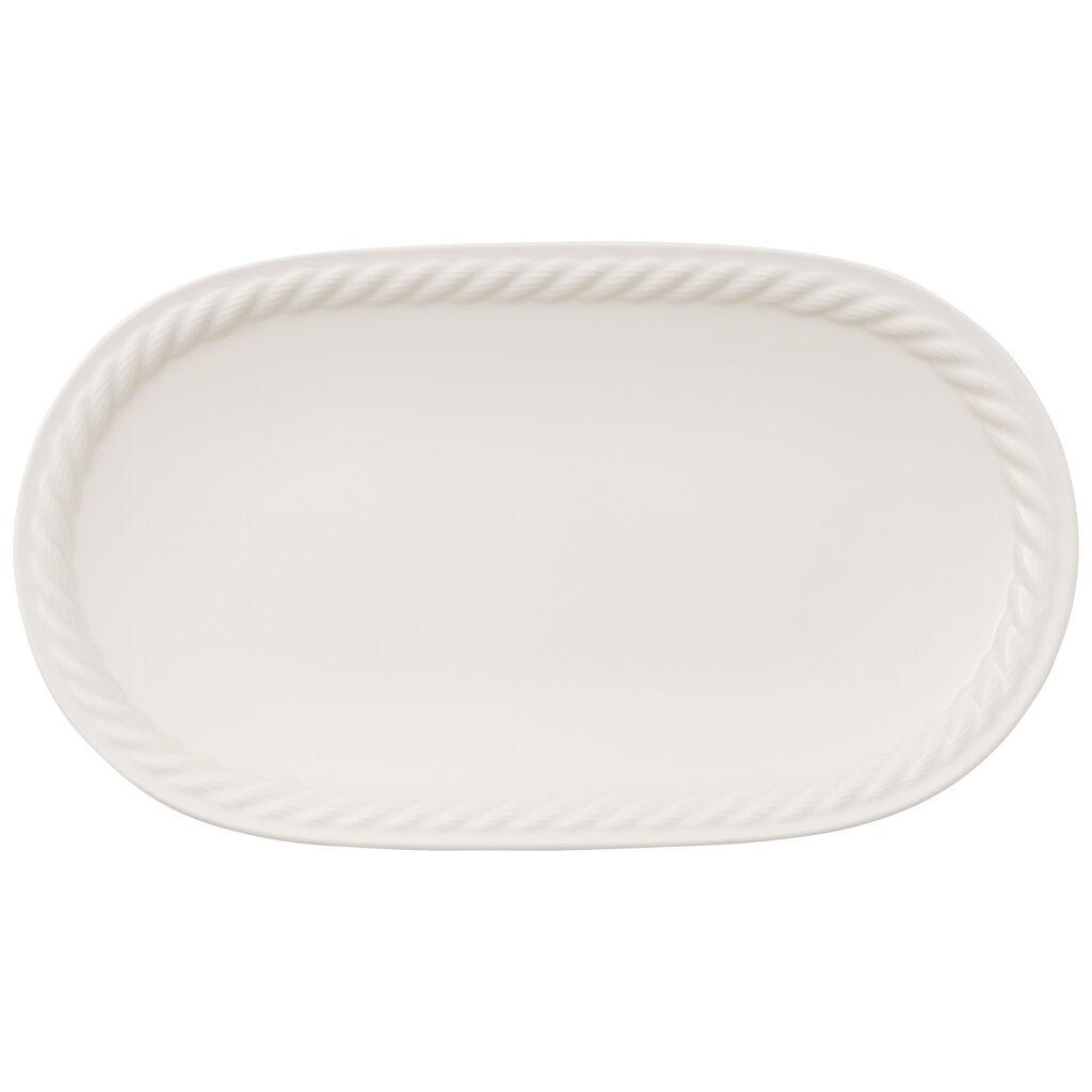 빌레로이 앤 보흐 몬탁 피클 접시 Villeroy & Boch Montauk Pickle Dish 11x6.25 in