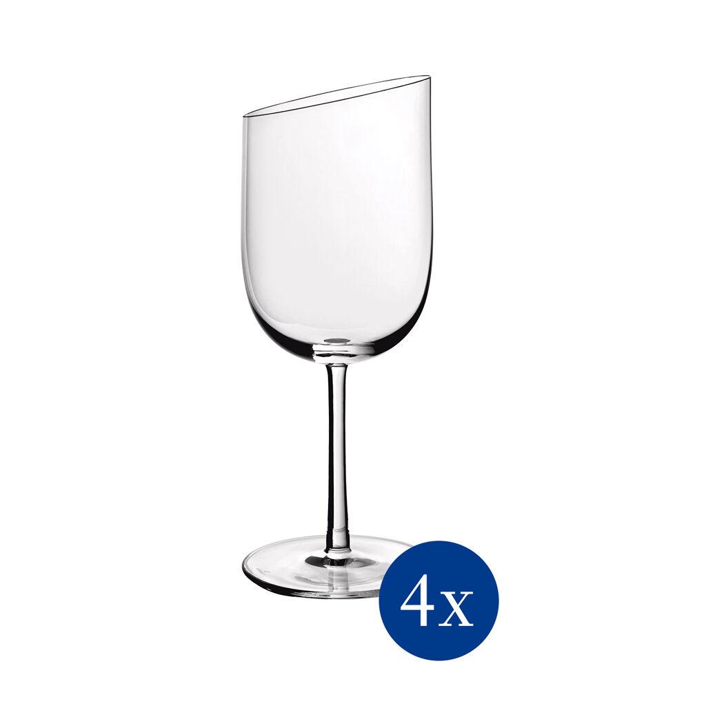 빌레로이 앤 보흐 뉴문 화이트 와인잔 (4세트) Villeroy & Boch NewMoon White Wine : Set of 4 7.25 in
