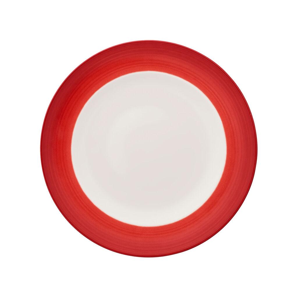 빌레로이 앤 보흐 컬러풀 라이프 딥 레드 그릇 Villeroy & Boch Colorful Life Deep Red Dinner Plate 10 1/2 in