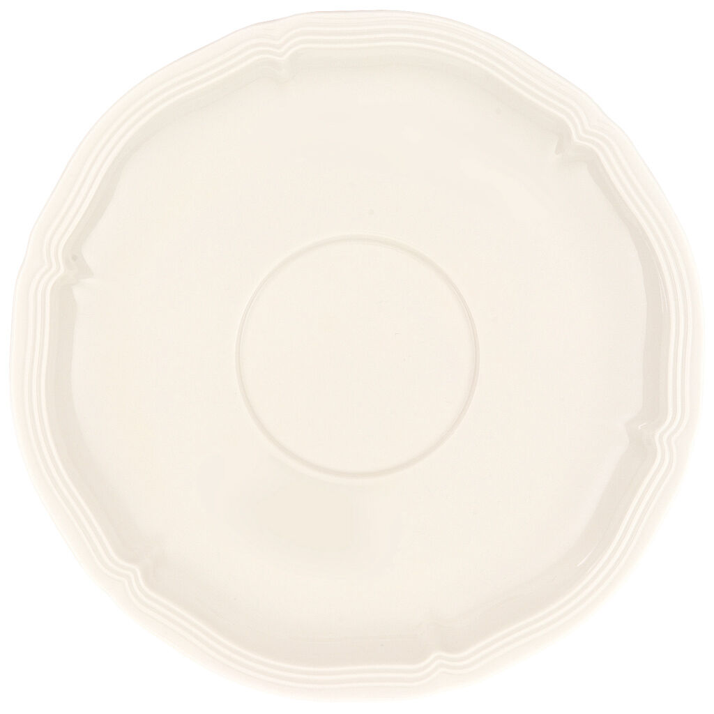 빌레로이 앤 보흐 컵 받침대 Villeroy & Boch Manoir Cream Soup Saucer 6 1/2 in