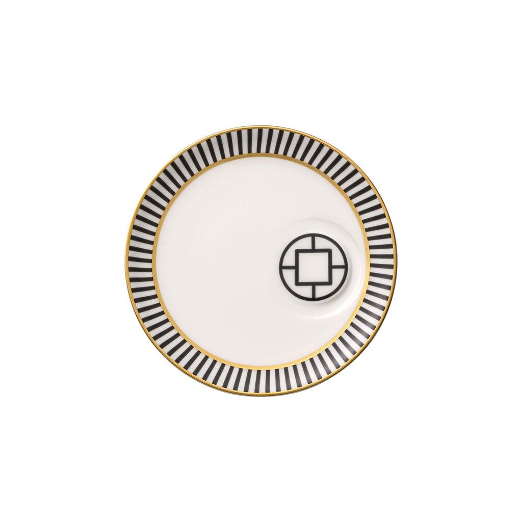 빌레로이 앤 보흐 '메트로 시크' 에스프레소잔 받침대 Villeroy & Boch MetroChic Espresso Cup Saucer 5.75 in