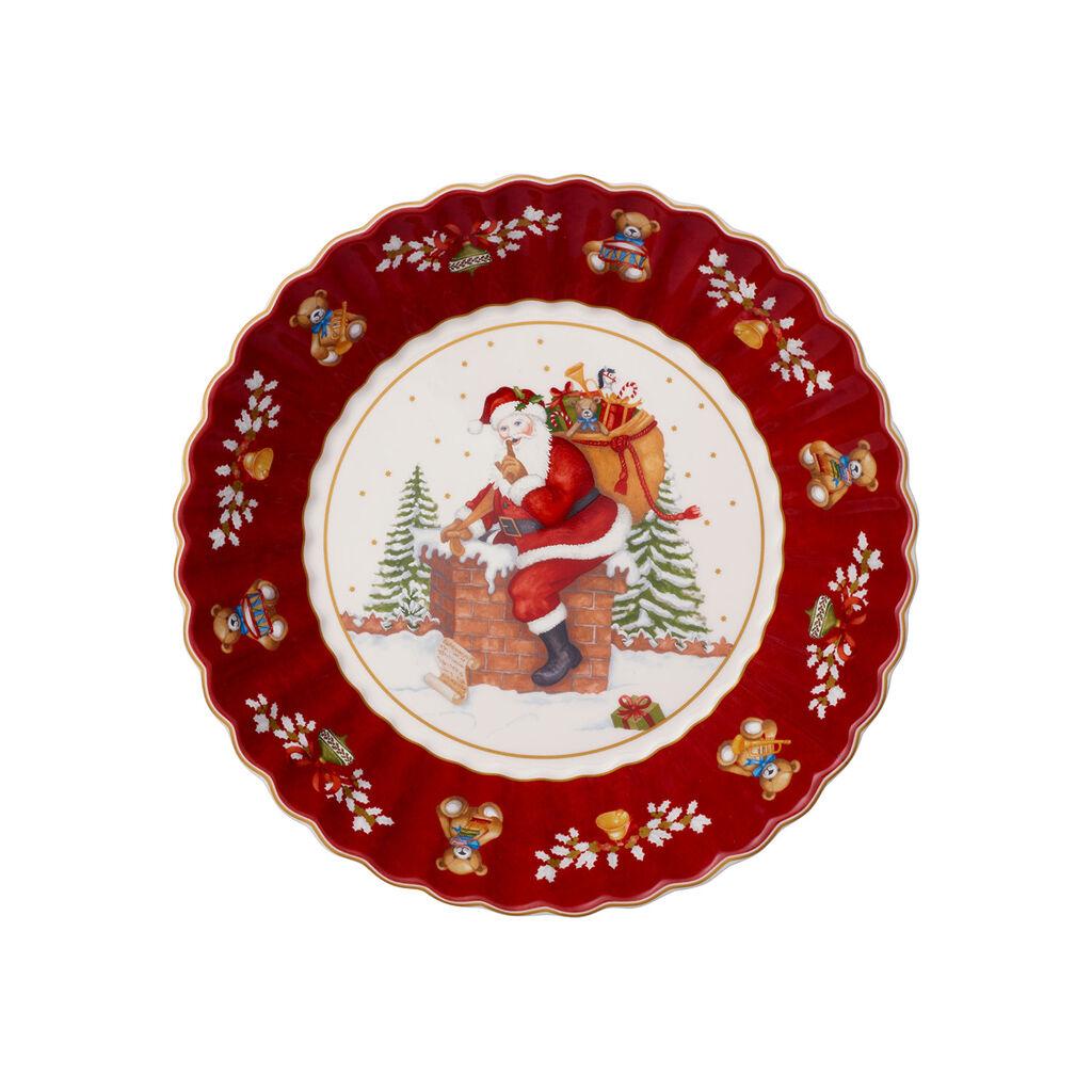 빌레로이 앤 보흐 토이즈 판타지 산타 라지 보울 Villeroy & Boch Toys Fantasy Large Bowl : Santa on Rooftop 95x975 in
