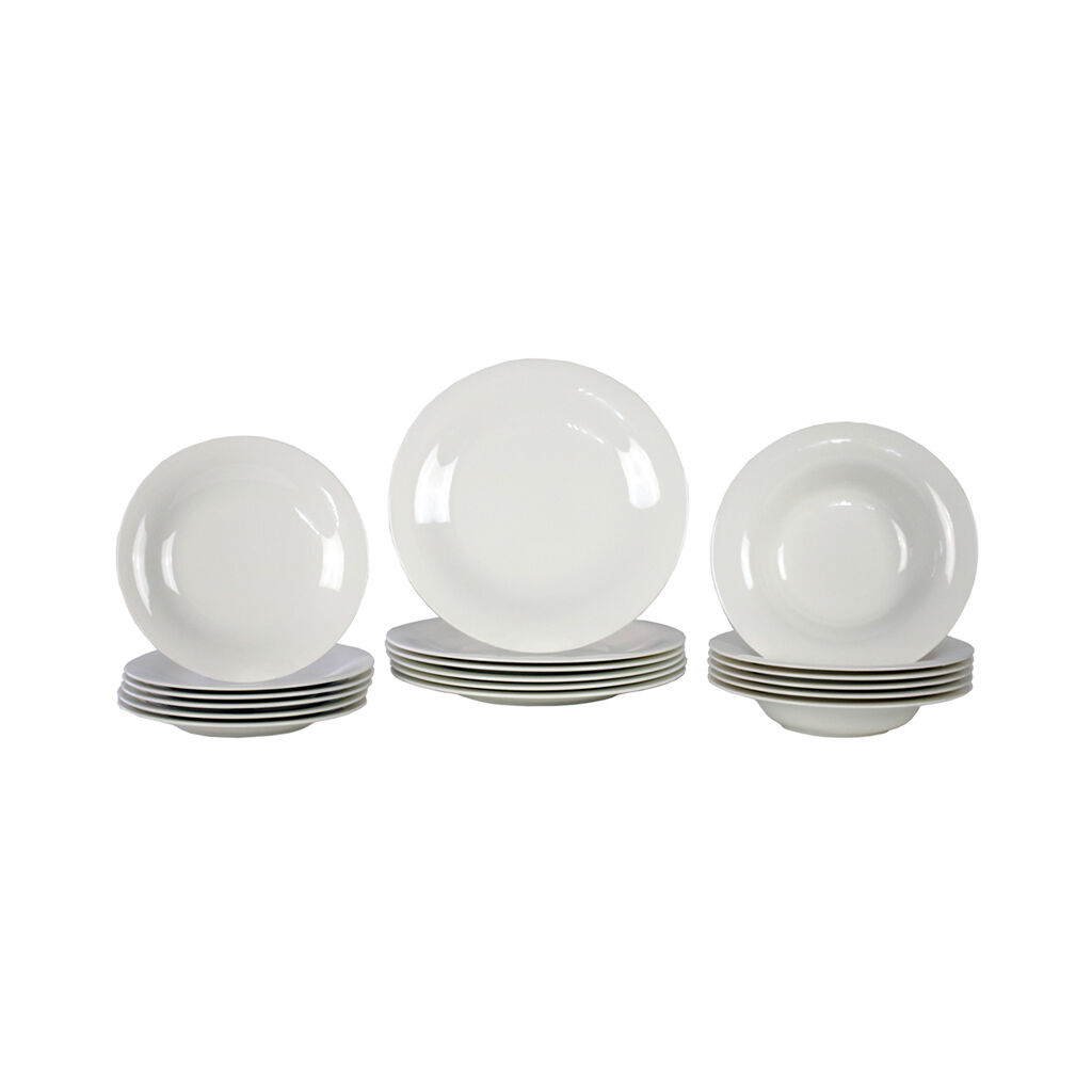 빌레로이 앤 보흐 그릇세트 Villeroy & Boch New Cottage Basic 18 Pc Catering Set
