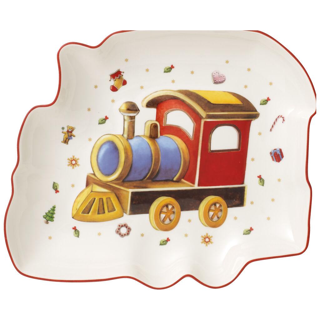 빌레로이 앤 보흐 토이즈 딜라이트 크리스마스 기차 접시 Villeroy & Boch Toys Delight Bowl : Christmas Train