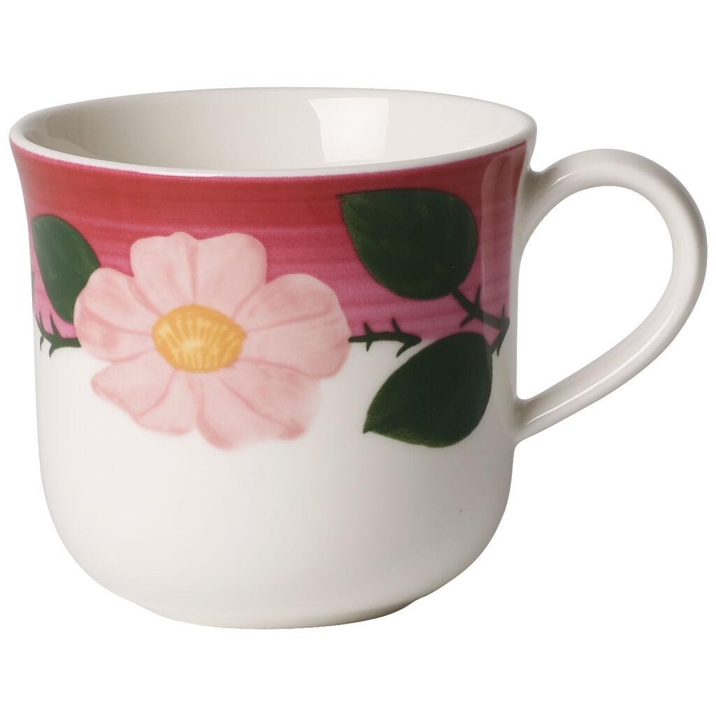 빌레로이 앤 보흐 로즈 소바쥬 블퍼잔 Villeroy & Boch Rose Sauvage Framboise Breakfast Cup 9 oz
