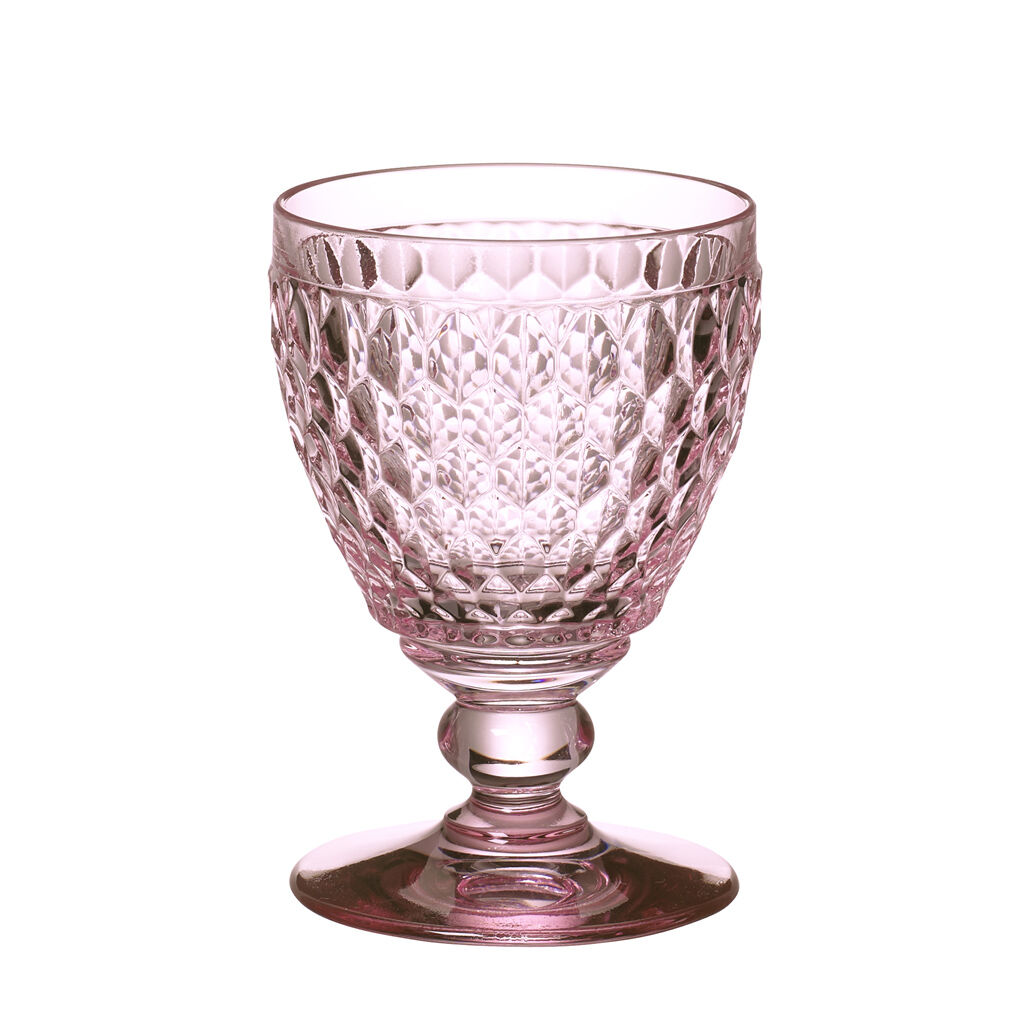 빌레로이 앤 보흐 보스턴 고블릿 Villeroy & Boch Boston Colored Goblet : Rose 14 oz