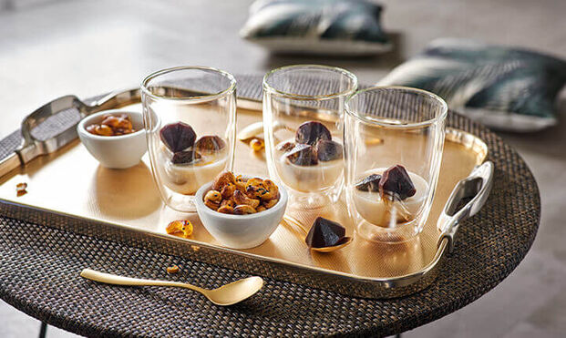 390 ml Clear Borosilicate Glass Set of 2 Villeroy /& Boch Artesano Hot /& Cold Beverages Cup Universal