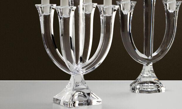 Hasil gambar untuk Adorning Dinner Table in Shabbat with Beautiful Candelabras