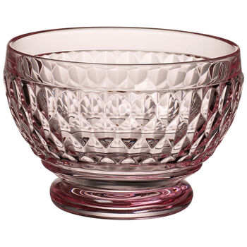 Boston Colored Individual Bowl-Rose : Set of 4 4.75 oz