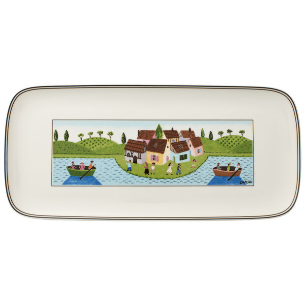 Design Naif Charm Sandwich Tray 13 3/4 in, , large