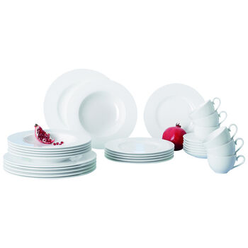 Royal 30-Piece Bone Porcelain Set