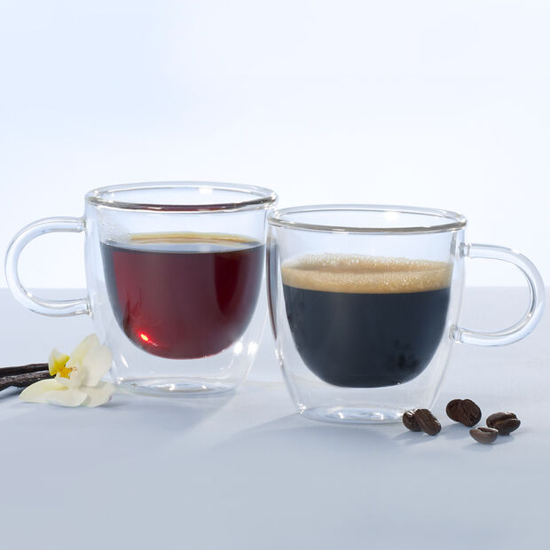 Artesano Hot&Cold Beverages Small Cup, Set of 2 2 1/2 in, , large