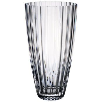 Light & Flowers Clear Vase, Lily 11 in