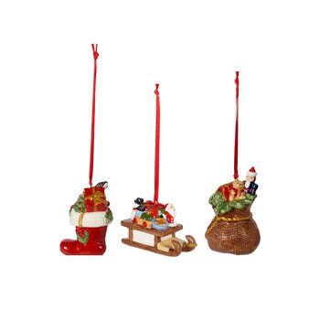 Nostalgic Ornaments Gift Box Ornamentes : Set of 3 2.5 in