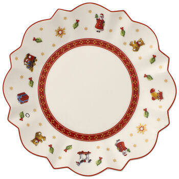 Toy's Delight Bread & Butter Plate : White 6 1/2 in