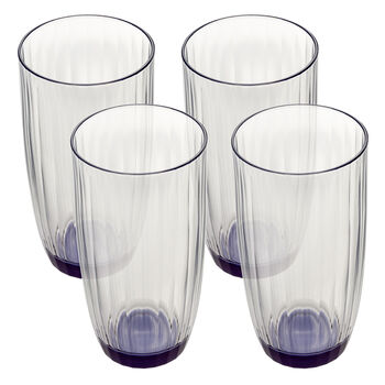 Artesano Original Bleu Large Tumbler : Set of 4 20.25 oz