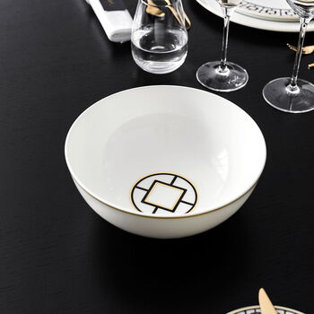 MetroChic Round Vegetable Bowl 9 in